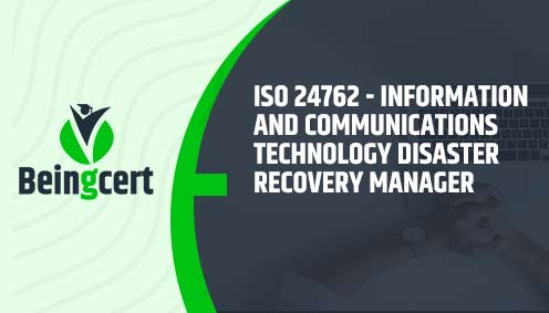 ISO 24762- Information and Communications Technology Disaster Recovery Manager