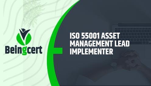 ISO 55001 Asset Management Lead Implementer